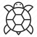 animal, chinese, lunar, new, turtle, year icon