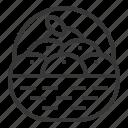 basket, chinese, citrus, lunar, new, orange, year icon