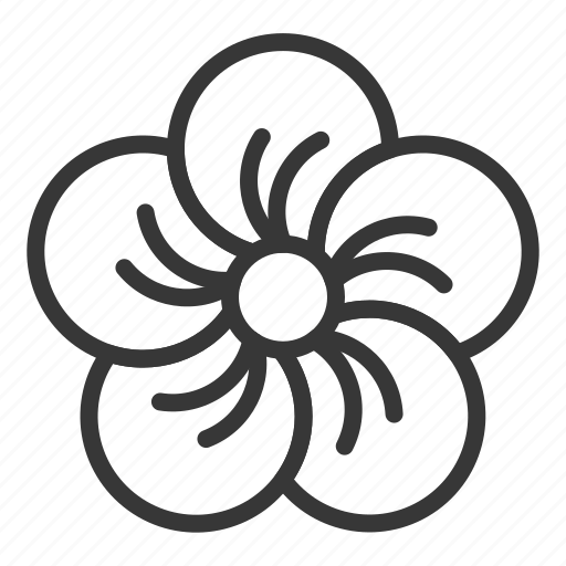 chinese, flower, lunar, new, plum blossom, year icon