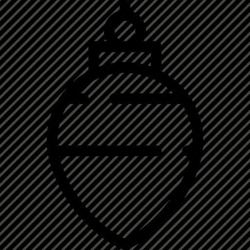ball, celebrating, christmas, decor, decoration, element, winter icon