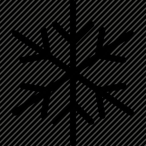 flake, freeze, ice, snow, snowflake, white, winter icon
