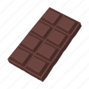 chocolate bar, food, dessert, sweetness, chocolate