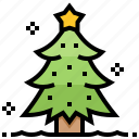 celebrate, christmas, conifer, decoration, festival, pine, tree icon