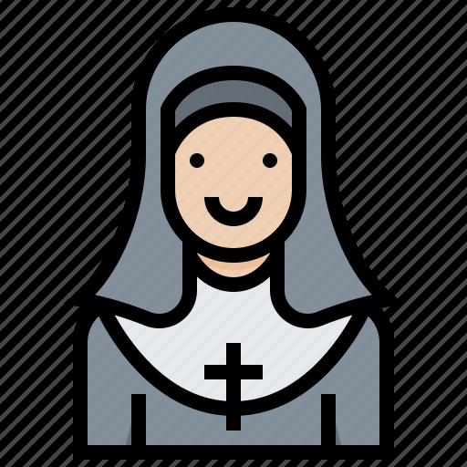 catholic, convent, missionary, nun, priest, sister icon