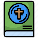 bible, book, christian, christianity, cultures, education, religion icon