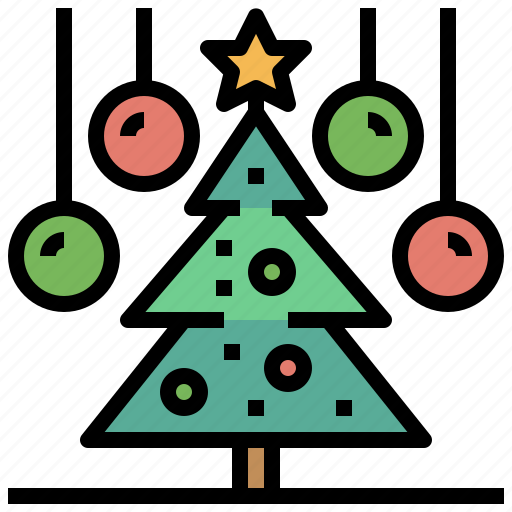 christmas, forest, nature, tree, trees, woods icon