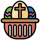 and, cultures, decoration, easter, egg, food, restaurant icon
