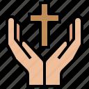 catholic, christianity, erchristian, hand, pray, religion, religious