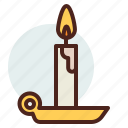 candle, christian, religion icon