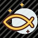 christian, fish, peace, religion icon