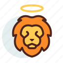 christian, lion, religion