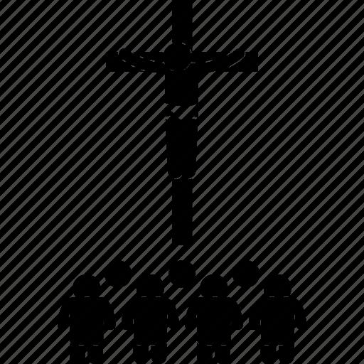 almighty, catholic, christ, christian, church, cross, jesus icon