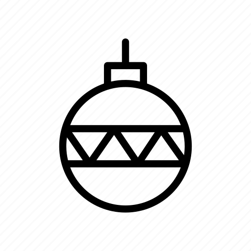 ball, christmas, decoration, holiday, winter, xmas icon