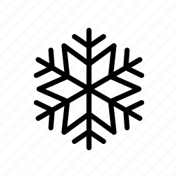 christmas, holiday, holidays, snowflake, winter icon