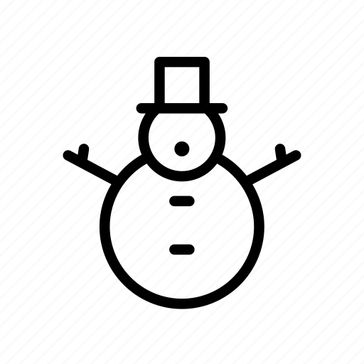 christmas, gift, holiday, snowman, winter, xmas icon