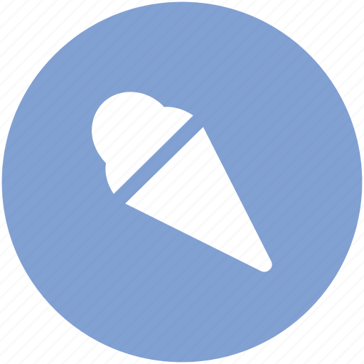 cake cone, cone, cup cone, dessert, ice cone, ice cream, sweet food icon