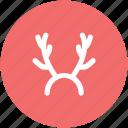 antler, antlers headband, deer horn, reindeer antlers, reindeer horns icon