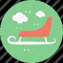 sled, sledge, sleigh, snow sleigh, snow transport