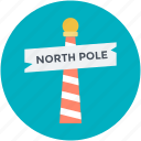 direction post, guidepost, north pole, road sign, signpost