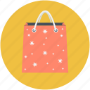 christmas shopping, shopper bag, shopping, shopping bag, tote bag icon
