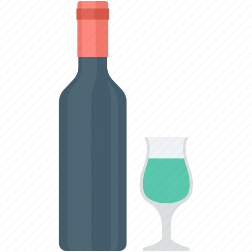 alcohol, champagne bottle, drink, glass, wine icon