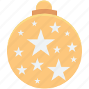 bauble, bauble ball, christmas, christmas bauble, christmas decoration icon