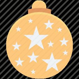 bauble, bauble ball, christmas, christmas bauble, christmas decoration icon