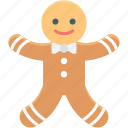 gingerbread, bakery food, christmas cookie, ginger man, gingerbread man
