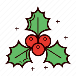 berries, christmas, christmas berry, decoration, holiday, holly, winter icon