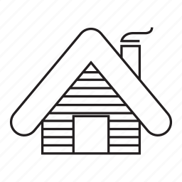 building, cabin, cottage, home, house, hut icon