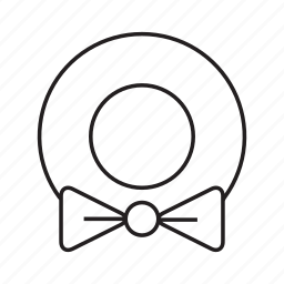 bow, decoration, party, ribbon icon
