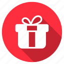 birthday, box, celebration, christmas, gift, package, party icon