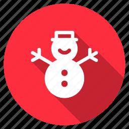 celebration, christmas, decoration, snow, snowflake, snowman, xmas icon