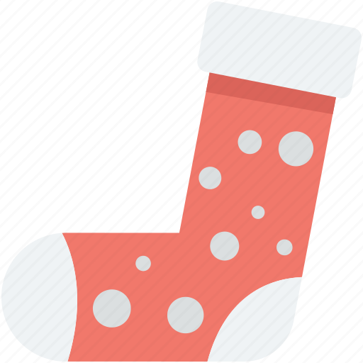 christmas, christmas socks, christmas stocking, fur stocking, stocking icon
