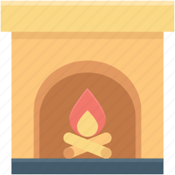 fireplace, heater stove, heating stove, pellet stove, room stove icon