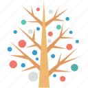 christmas, christmas tree, nature, tree, tree decoration icon