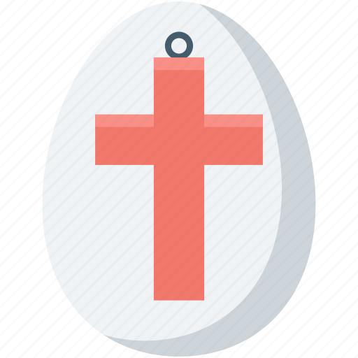 christian cross, easter decorations, easter egg, holy cross, jesus cross icon