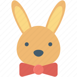 animal, bunny, bunny face, hare, rabbit face icon