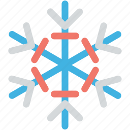 christmas, snow falling, snowflake, snowflake ornament, winter icon