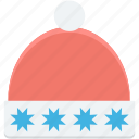 christmas, christmas hat, hat, santa hat, santa hat isolated icon
