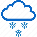 christmas, cold, snow, snowflake, winter icon