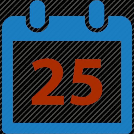 calendar, christmas, day, holiday, schedule, xmas icon