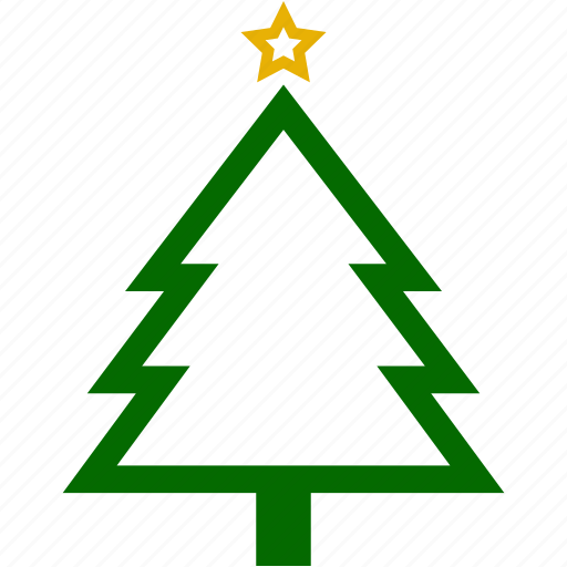 christmas, pines, plant, plants, star, xmas icon