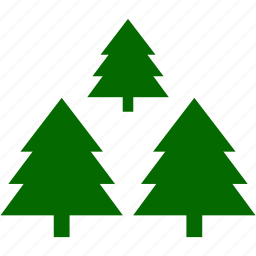 christmas, pines, plant, xmas icon