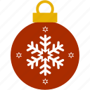 bubble, christmas, hanging, lanterns, ornament, snowflake