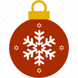 bubble, christmas, hanging, lanterns, ornament, snowflake icon