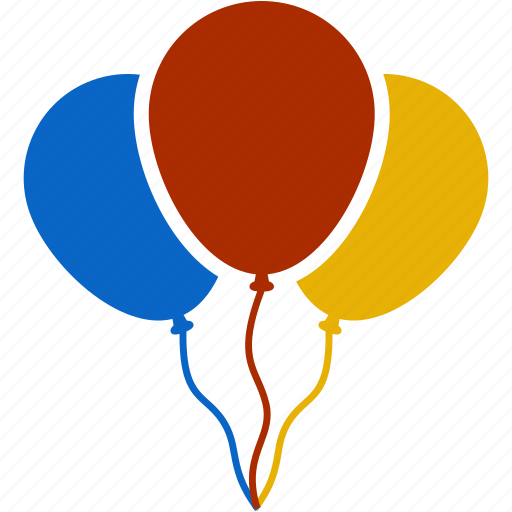 balloon, birthday, celebration, christmas, decoration, ornament icon