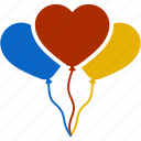balloon, celebration, christmas, decoration, wedding, valentine icon