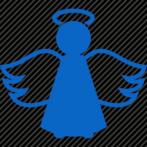 angel, christmas, peace, wings, xmas icon
