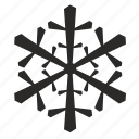 christmas, cold, flake, nature, new year, snow, weather, winter icon